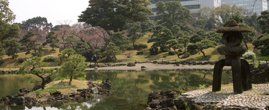 Kyu Shibarikyu Garden